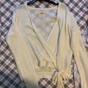 Hollister Wrap Sweater